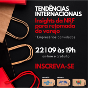 Retomada do varejo - Palestra gratuita: Tendências internacionais