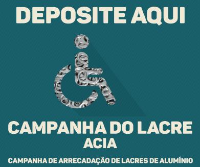 ACIA e Clínica Sayão juntas na campanha de arrecadação de lacres de alumínio